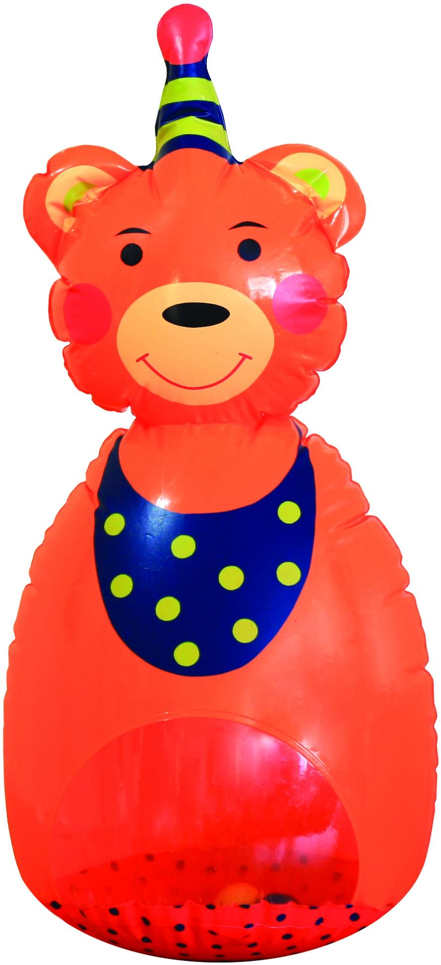 Неваляшки для малышей LUBBY Мишутка-Неваляшка мягкие игрушки spiegelburg мишка неваляшка baby gluck