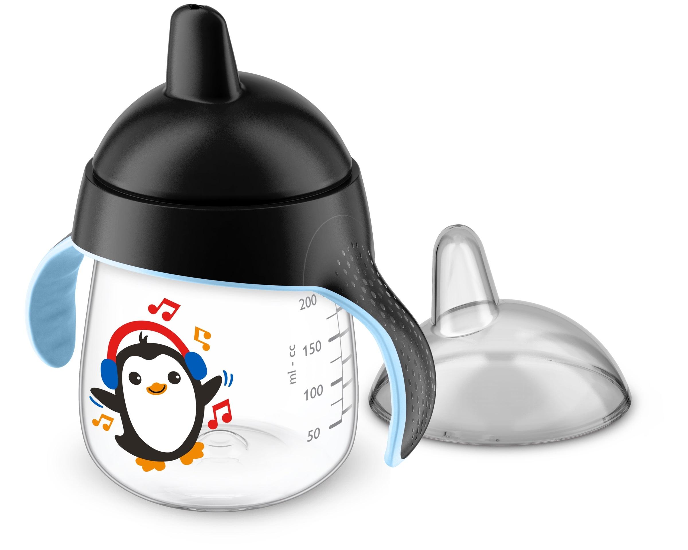 Купить Чашка-непроливайка, черный, 1шт., Philips AVENT SCF753_03, Индонезия, black