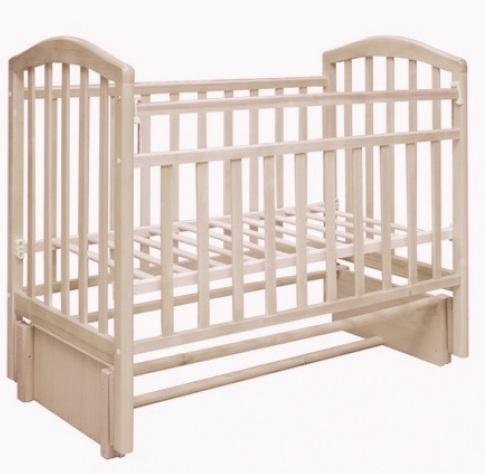 Кроватки Антел Кроватка Антел «Алита-5» продольн. маятник слоновая кость кроватка антел алита 4 маятник качалка ящик слоновая кость