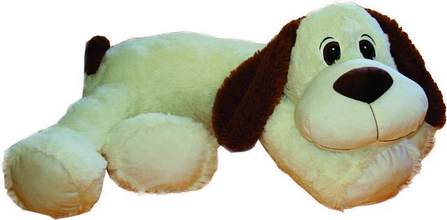 Мягкие игрушки СмолТойс «Пес лежащий» 60 см смолтойс мягкая игрушка миньон кевин 60 см