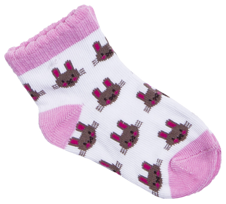 Носки для девочки Barkito Зайка леггинсы barkito зайка