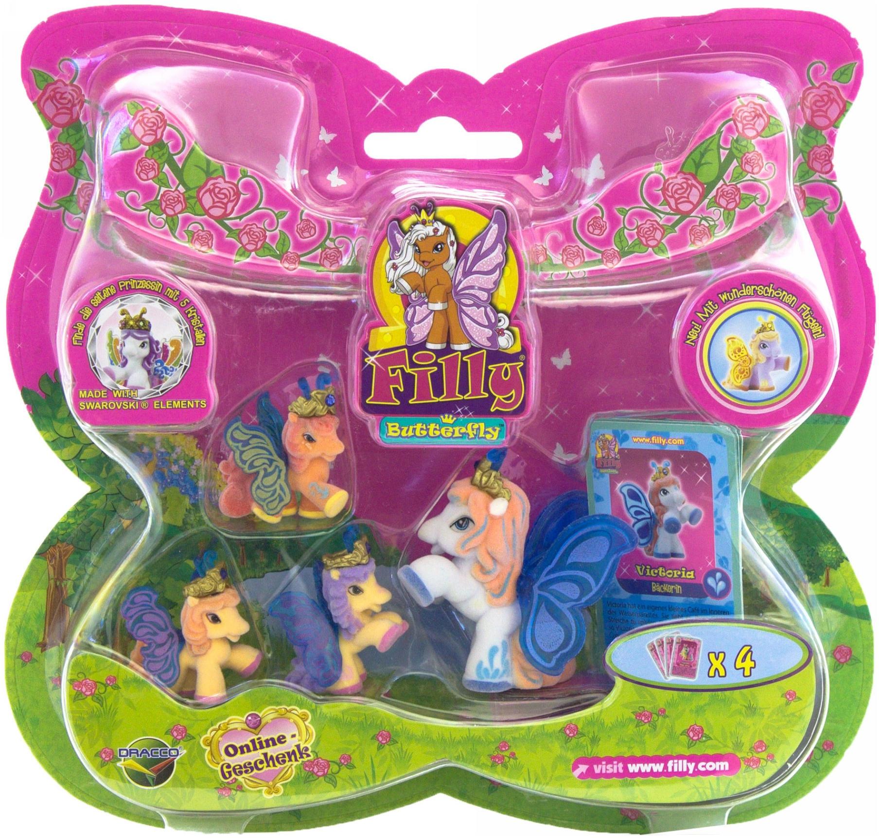 Набор игровой Filly Большой набор Butterfly Волшебная семья