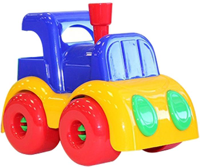 Фото - Машинка Пластмастер Машинка Пластмастер Паровозик Малышок игры и игрушки в дорогу пластмастер подвеска на коляску пластмастер нежность