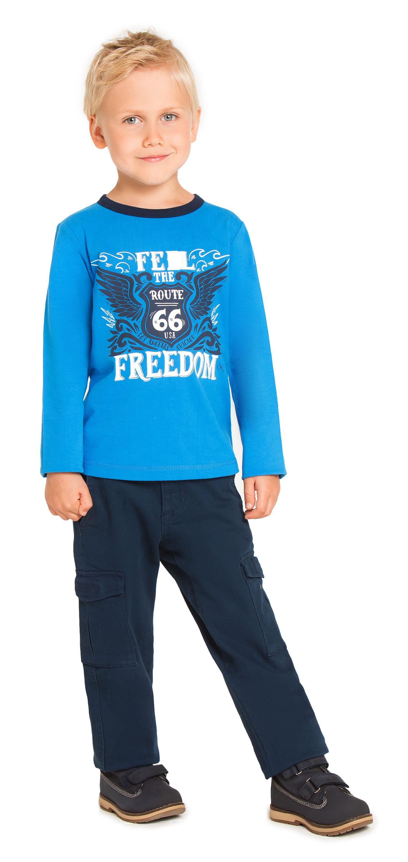 Купить Брюки для мальчика, Мотобайкер темно-синие, 1шт., Barkito W18B4001W, Китай, т.синий, Мужской