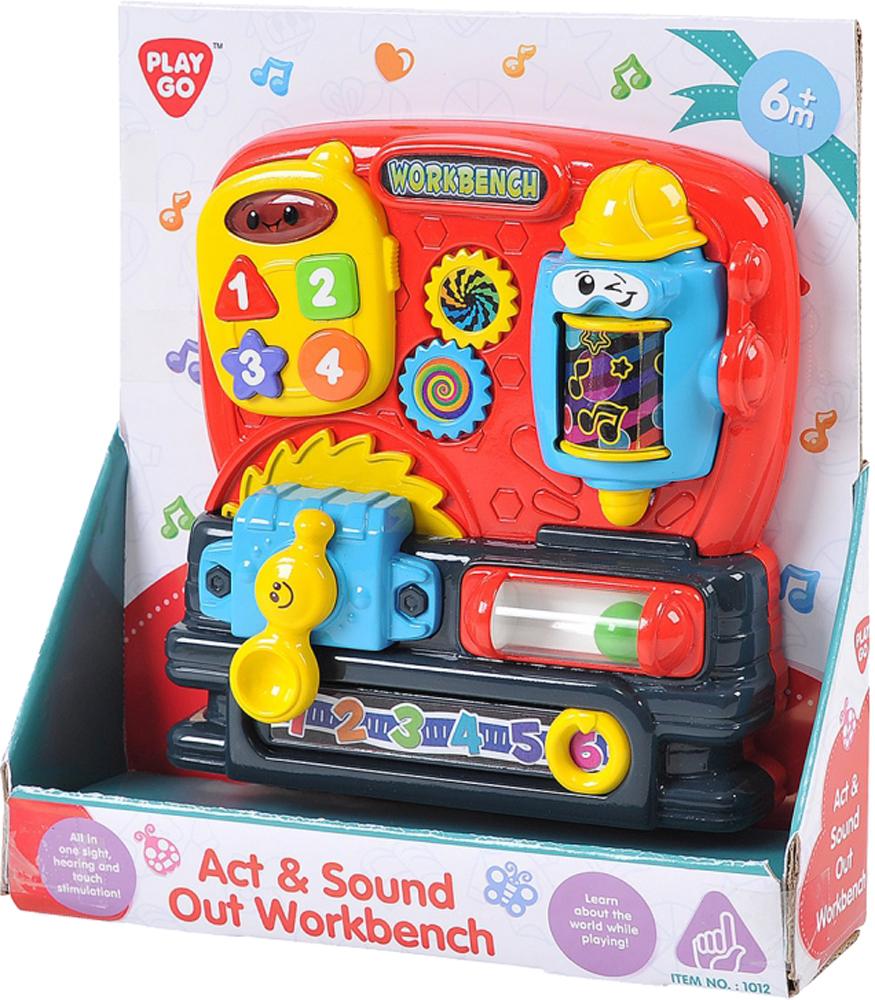 Развивающие игрушки PLAYGO Мастерская развивающие игрушки playgo игрушка телевизор 2196