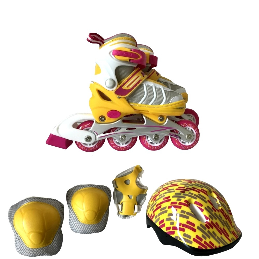 Роликовые коньки ASE-SPORT COMBO ASE-631 детские ролики maxcity caribo combo