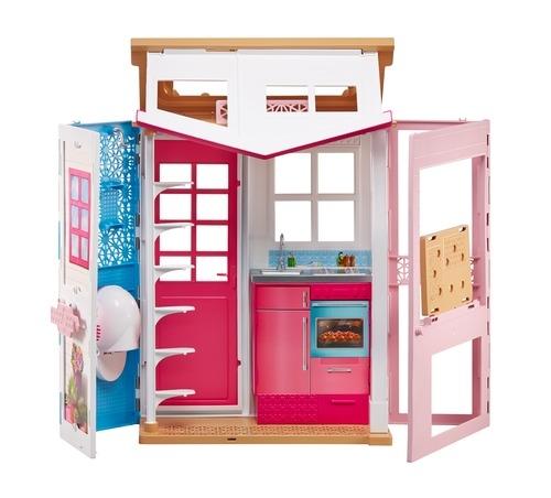 Игровой набор Barbie Mattel Портативный домик с аксессуарами