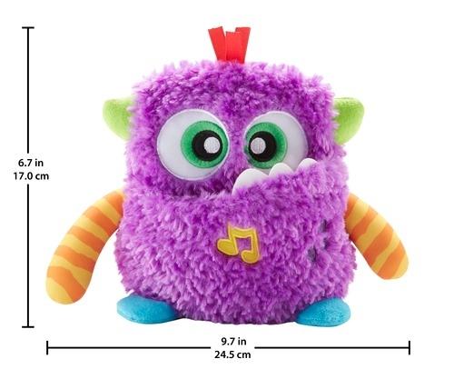 Развивающая игрушка Fisher Price Хихикающий монстрик развивающая игрушка fisher price бибель