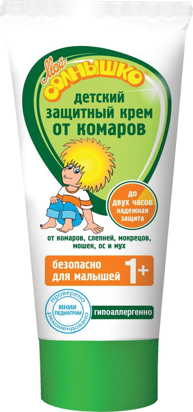 Средства от насекомых Моё солнышко Крем от комаров Моё солнышко детский 50 мл моё солнышко бальзам после укусов насекомых моё солнышко