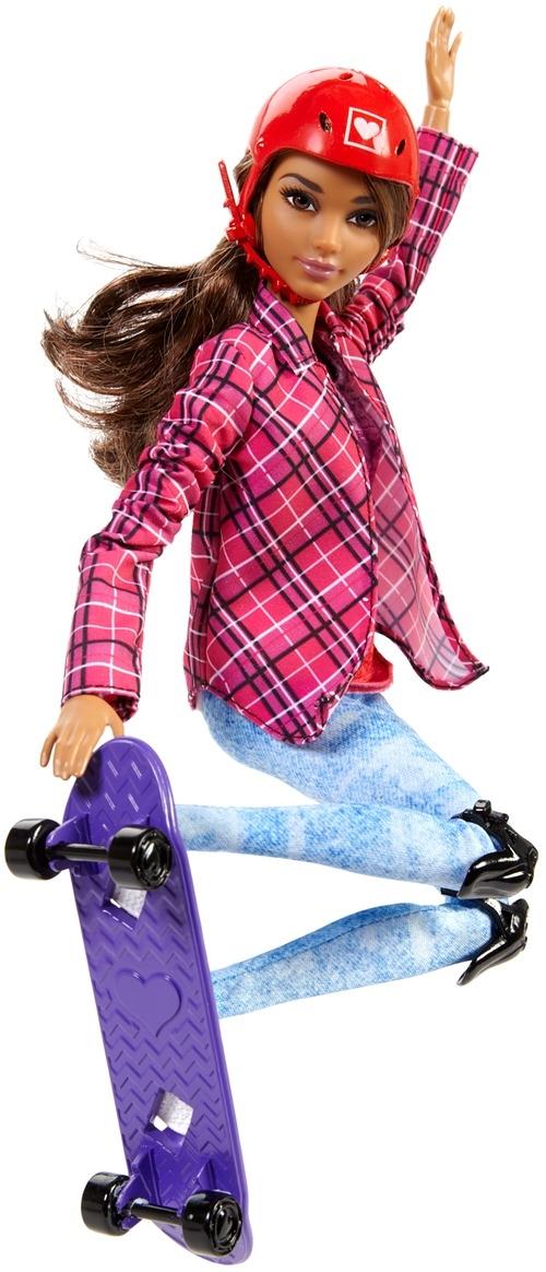Barbie Barbie Кукла Barbie Куклы-спортсментки «Безграничные движения» в асс. германия nici любят черный баран овец куклы 35см плюшевые куклы любителей игрушки куклы подарок на день рождения подарок кукла 40603