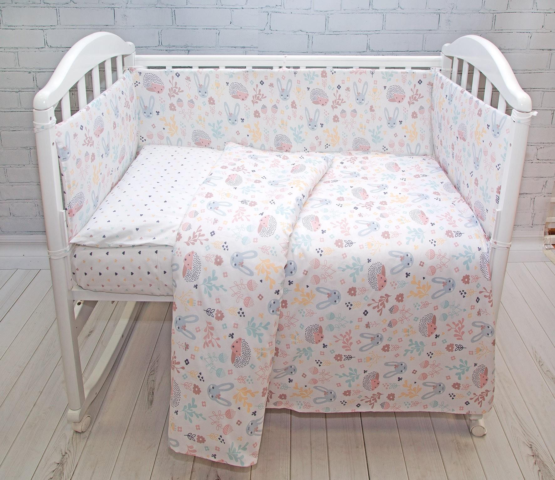 Комплект в кроватку Споки Ноки Лесная Поляна