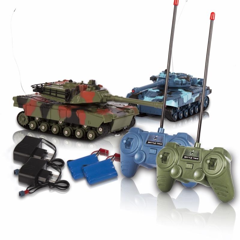 Танки Mioshi «Танковый бой: Схватка» 2 шт. 20 см. радиоуправляемые игрушки 1toy игровой набор танковый бой на радиоуправлении