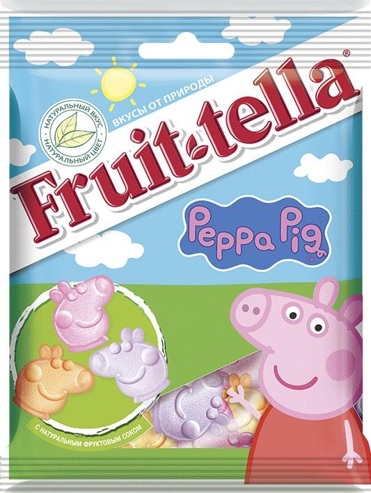 Peppa Pig Fruittella  « » жевательный 70 г