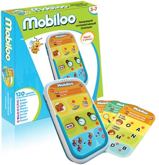 Интерактивное обучение ZanZoon Планшет Mobiloo интерактивный планшет для детей zanzoon mobiloo