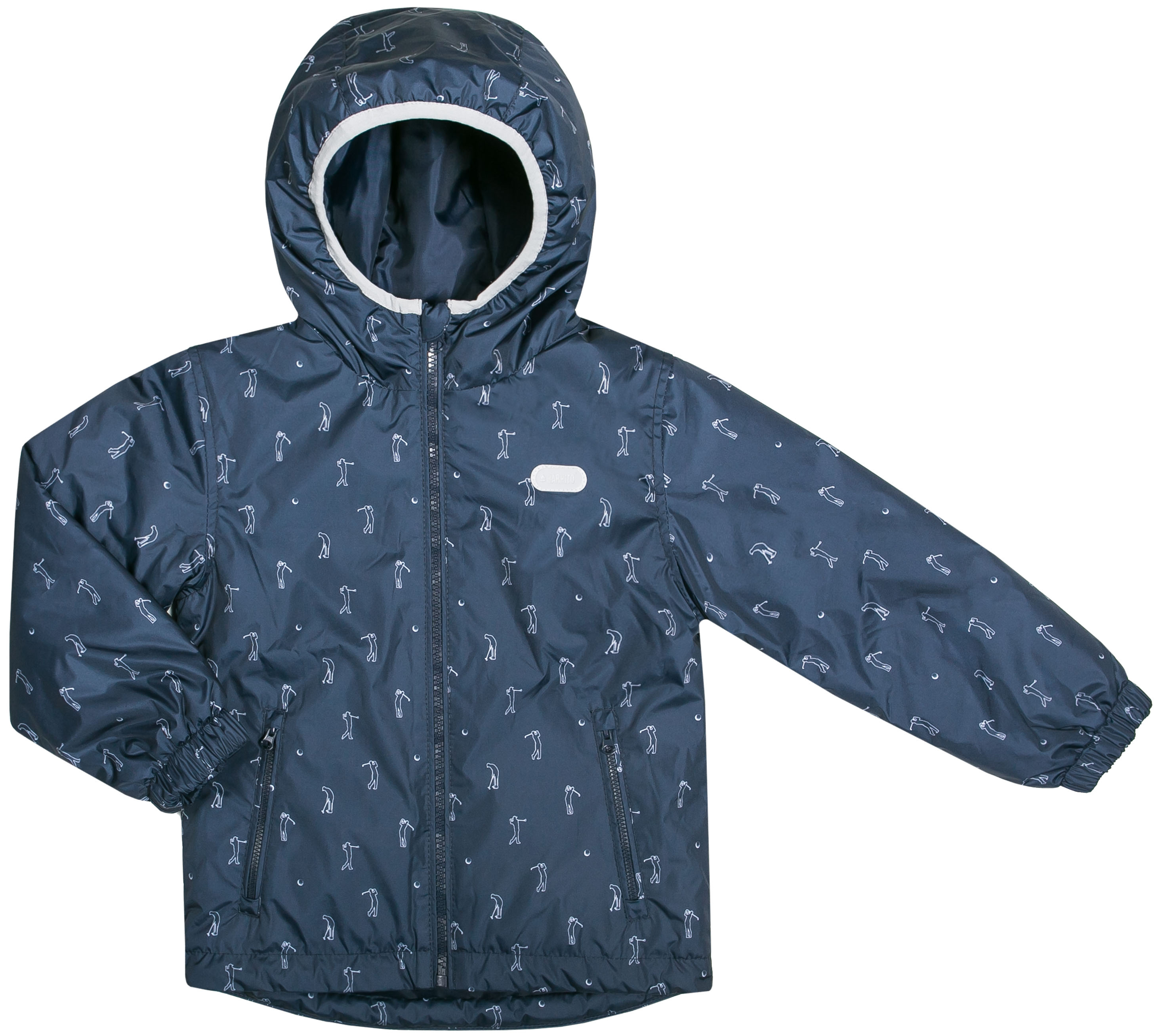 Фото - Куртки Barkito Куртка для мальчика Barkito, темно-синяя с рисунком куртки пальто пуховики coccodrillo куртка для девочки wild at heart
