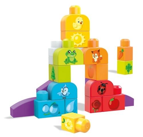 Фото - Конструкторы для малышей Mega Bloks Изучаем цвета DXH33 mega bloks mega bloks конструктор обучающий для малышей разные формы