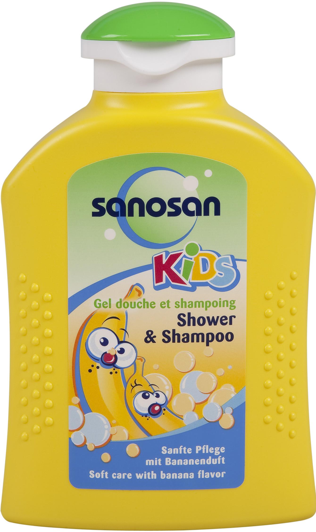 Средства для купания малышей Sanosan Шампунь Sanosan sanosan крем гель для купания 400 мл sanosan