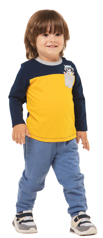 Брюки трикотажные Barkito Мишка в космосе брюки barkito брюки трикотажные для мальчика barkito динозаврики синие