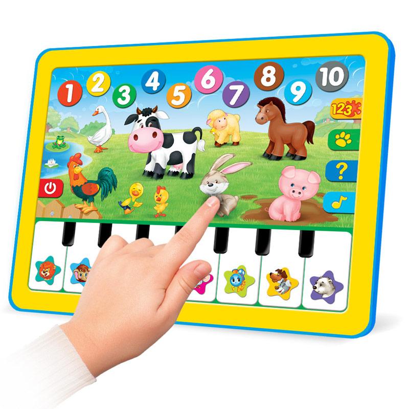 Развивающие игрушки Азбукварик Развивающая игрушка Азбукварик Планшетик «Веселая радуга» азбукварик планшет веселая радуга с пианино