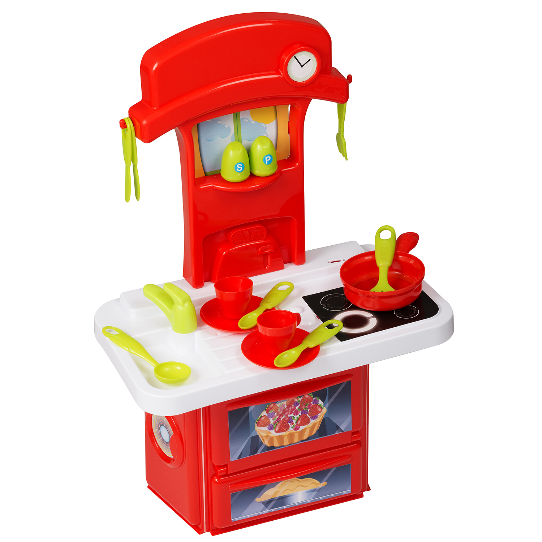 Игровой набор HTI Мини-кухня Smart с 15 аксессуарами