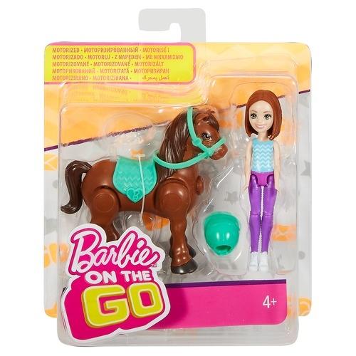 Игровой набор Barbie В движении Пони и кукла