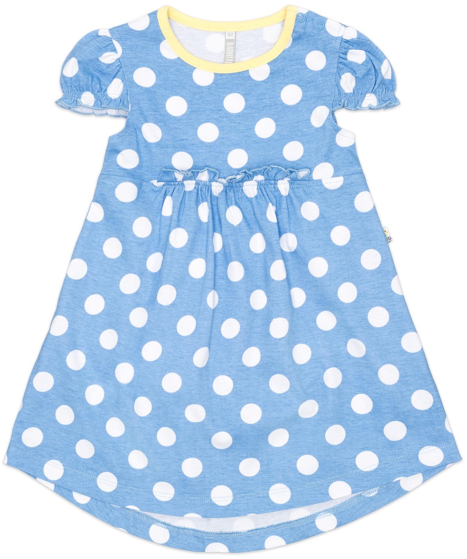 Платье трикотажное Barkito У синего-синего моря 911006 X507 75 город у моря