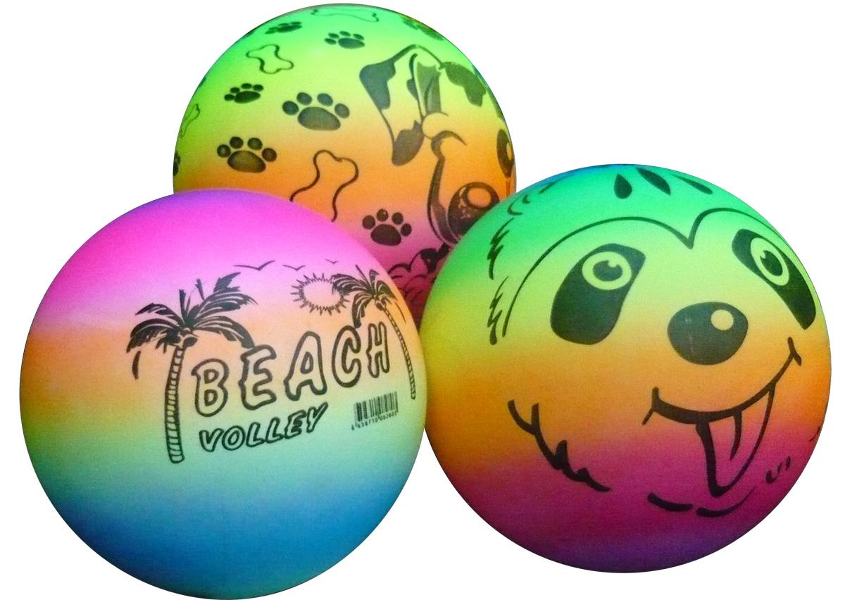 Купить Товары для плавания, Надувной мяч Veld Co. «Веселый» 22 см, Китай, мултиколор