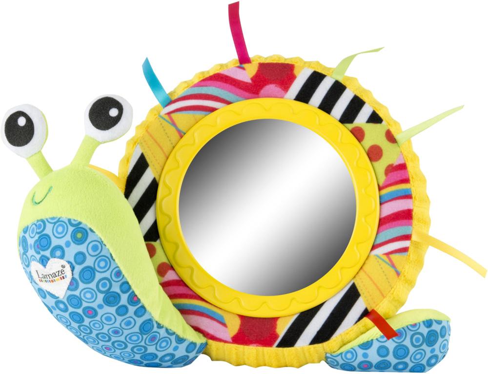 Обучающие LAMAZE Улитка Мишель с зеркальцем lamaze игрушка подвеска забавная спиралька