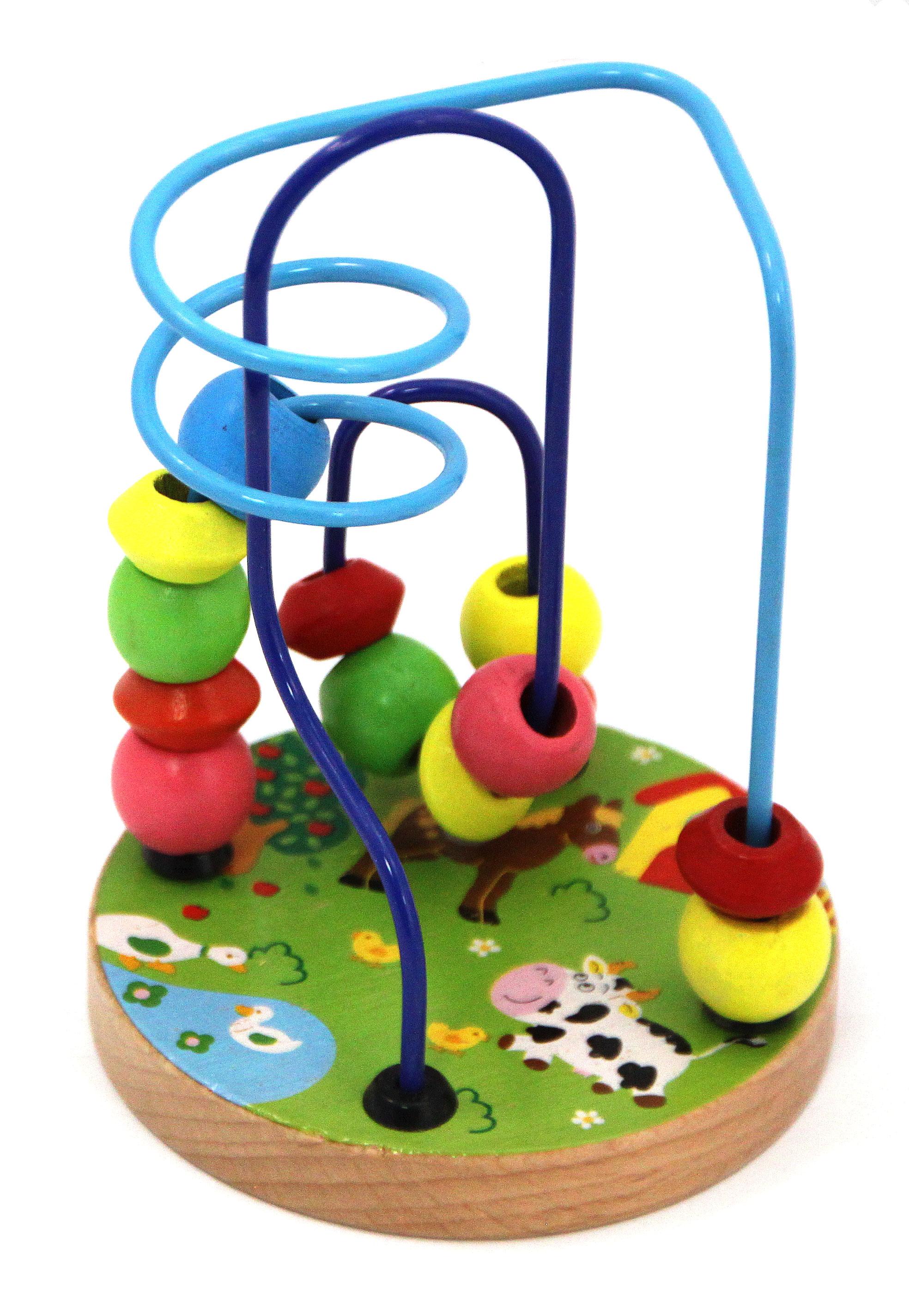 Деревянные игрушки База игрушек Лабиринт деревянный База игрушек в ассортименте деревянные игрушки мир деревянных игрушек лабиринт 5