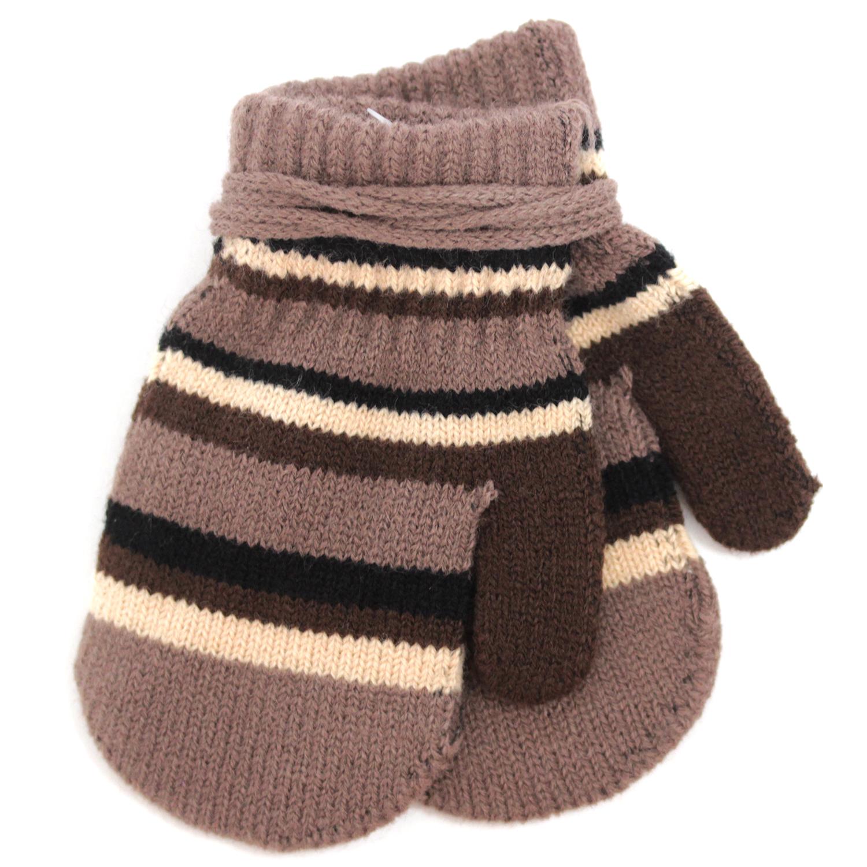 варежки перчатки и шарфы elodie details варежки 103224 103219 Варежки и перчатки Принчипесса Варежки для мальчика Принчипесса, коричневые
