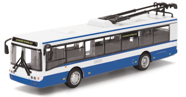 Троллейбус Технопарк Модель Троллейбуса машинка технопарк автобус троллейбус с гармошкой 253085