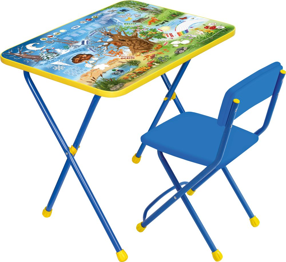 Столы и стулья Ника Познайка Хочу все знать наборы детской мебели ника познайка кп2 хочу все знать