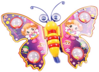 Игрушки-каталки PlaySmart Бабочка каталки игрушки brio вертолет