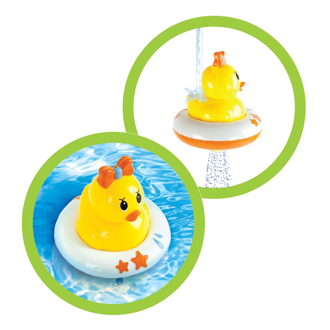 Детские игрушки для ванной Наша игрушка Ути Утя. Водное решето игрушка для купания для ванны жирафики ути утя водная мельница 22 см 939394