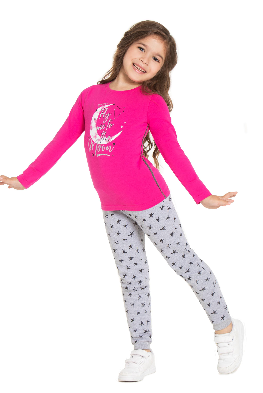 Футболка для девочки Barkito 750573 X426 75 брюки трикотажные для barkito алоха гавайи 913509 x426 75