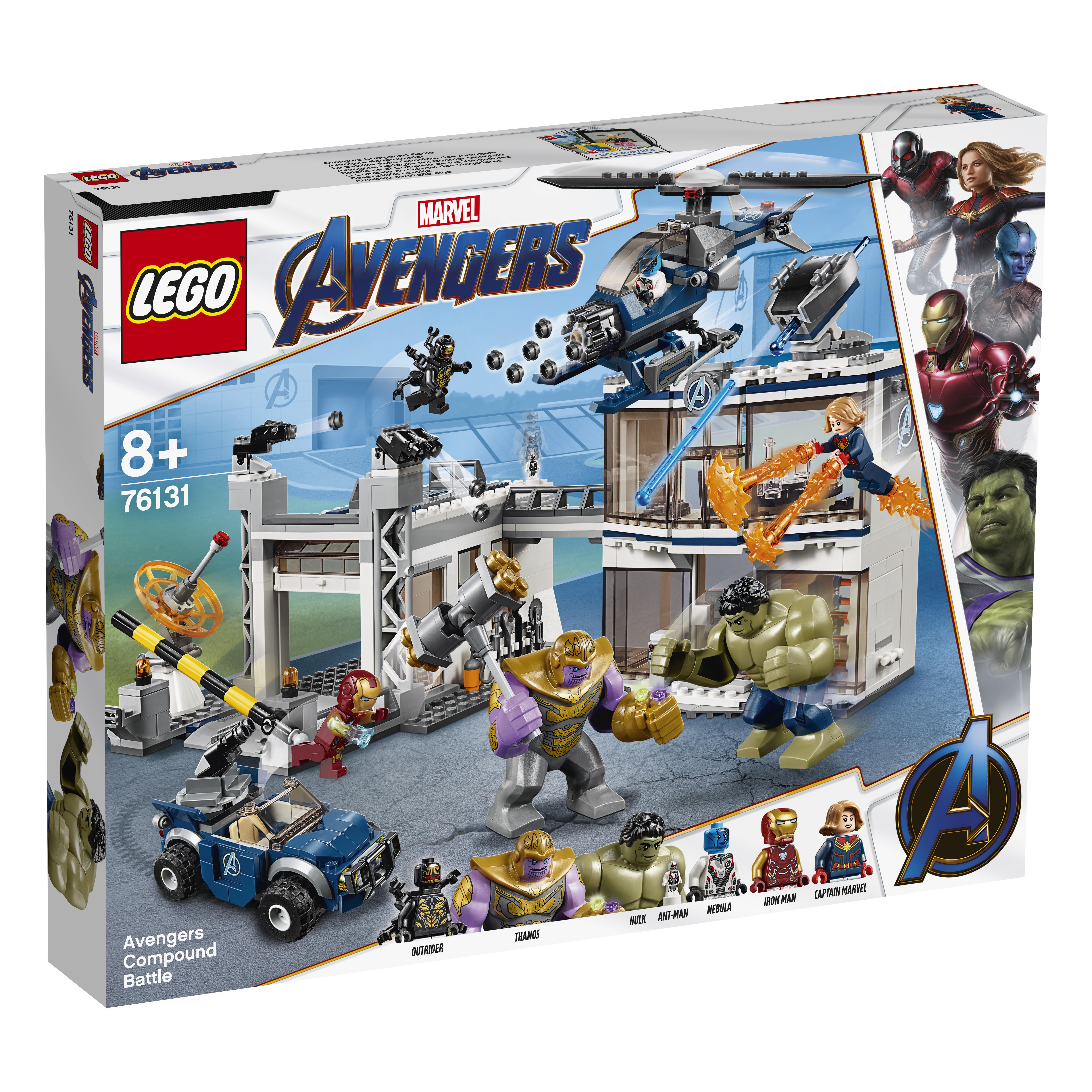 Конструктор LEGO Super Heroes 76131 Битва на базе Мстителей цены онлайн