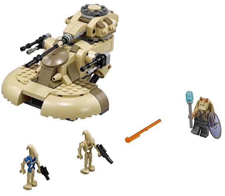 Star Wars LEGO Star Wars 75080 Бронированный шт.урмовой танк AAT джа фари м благоразумная жизнь