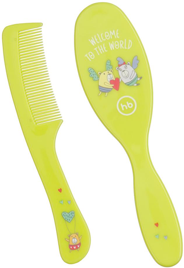 Расчески Happy baby Набор Happy Baby Щетка и расческа в асс. расческа happy baby 17000 hairbrush comb light blue
