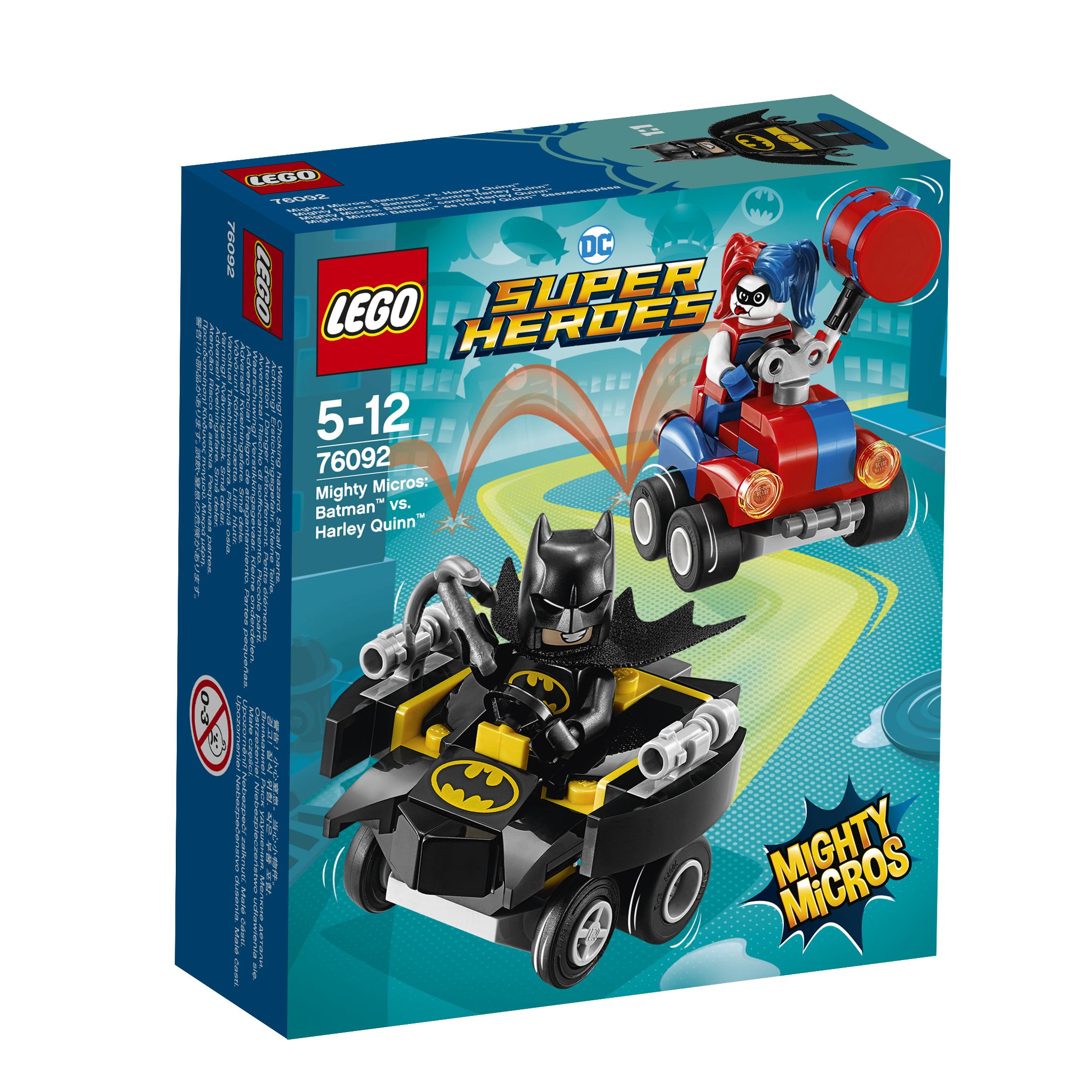 LEGO LEGO 76092 Бэтмен против Харли Квин lego super heroes конструктор mighty micros бэтмен против харли квин 76092