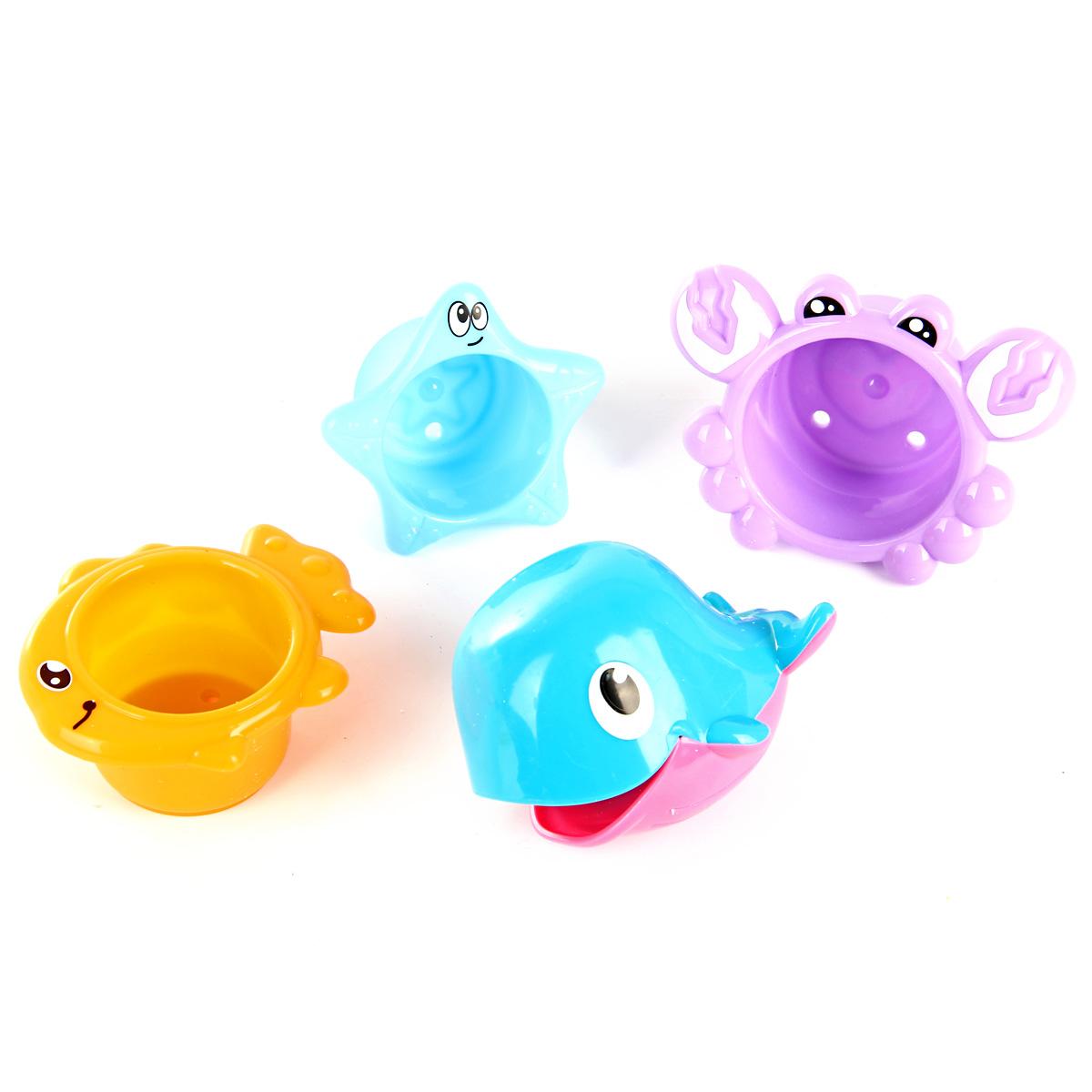 Игрушки для ванны Ути Пути Набор игрушек для ванны Ути Пути «Формочки. Дельфинчик» в асс. цена
