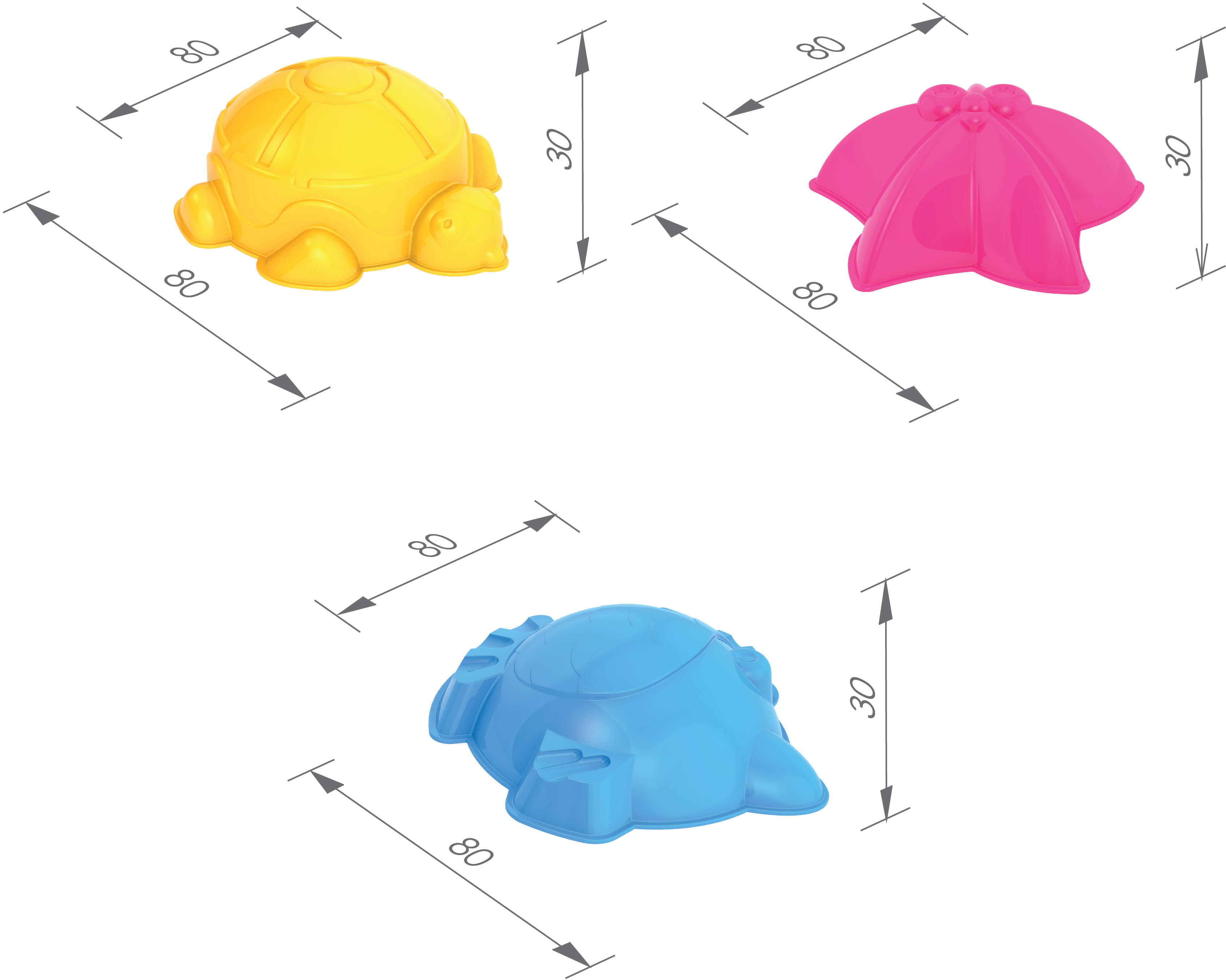 Набор Нордпласт Нордпласт №4 (029+004+малое ведро) игрушки для песка нордпласт barbie n6
