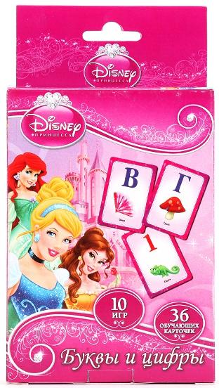 Карточки игровые Умка Дисней Принцессы развивающие карточки на магнитах умка учим алфавит и цифры дисней принцессы в кор 60шт