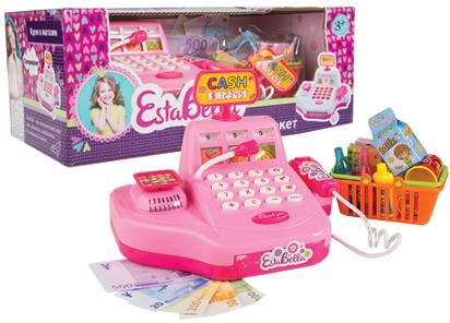Игровые наборы Профессия EstaBella Игровой набор EstaBella «Супермаркет» с кассой кукла estabella дашенька