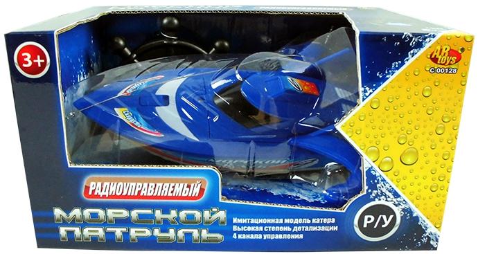 Катера и лодки ABtoys Морской патруль игрушка wow морской патруль сэмми 10322