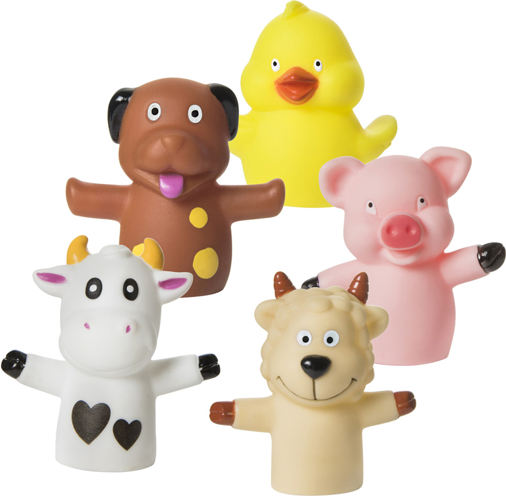 Игрушки для ванны Курносики Веселая ферма 200050 набор для ванны веселая ферма от 2 лет