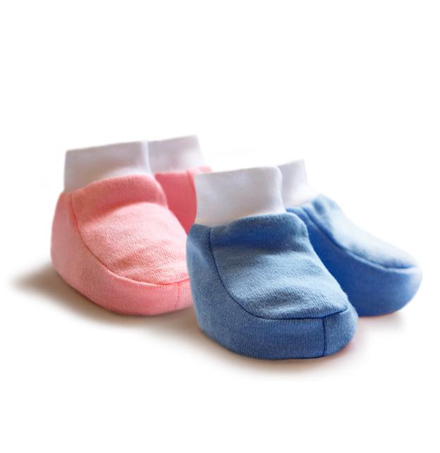 Первые вещи новорожденного КотМарКот Пинетки - интерлок пинетки первые шаги интерлок page 3