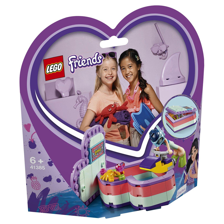 Конструктор LEGO Friends 41385 Летняя шкатулка-сердечко для Эммы lego friends 41354 шкатулка сердечко андреа конструктор