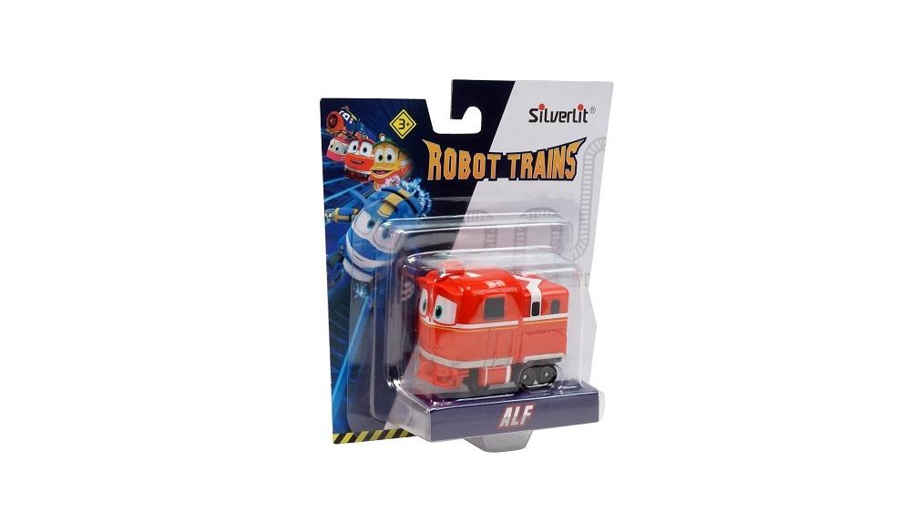 Фигурки героев мультфильмов Robot Trains Альф 80156 фигурки героев мультфильмов robot trains паровозик robot trains виктор в блистере