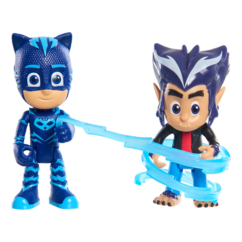 Экипировка героев PJ Masks Кэтбой и Хоулер» 2 фигурки 8 см игрушки для ванны pj masks игровой набор кэтбой и ромео