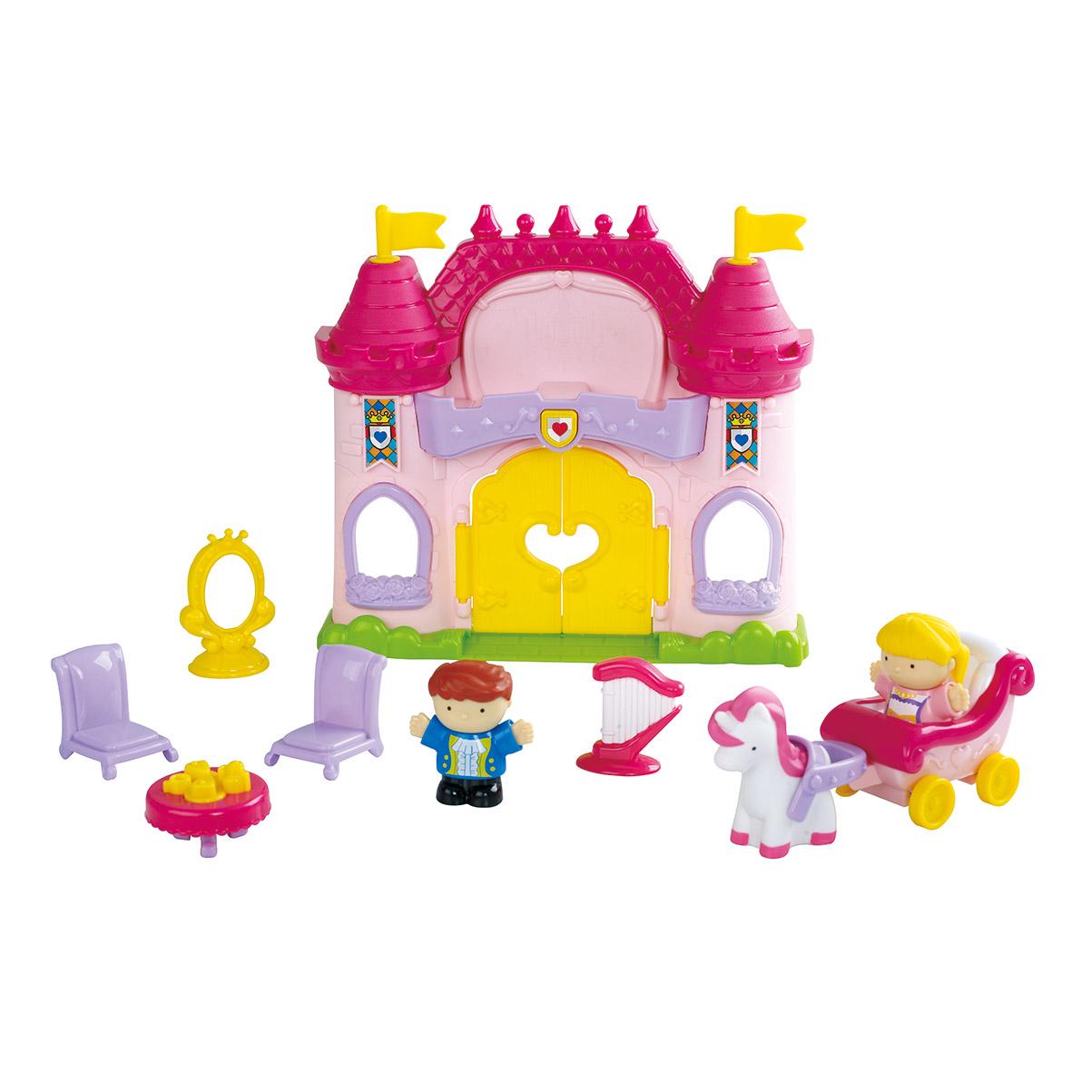 Игровой набор PLAYGO Сказочный замок набор с пластилином playgo мульти